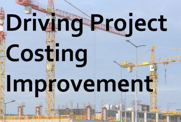 Driving Project Costing Improvement
