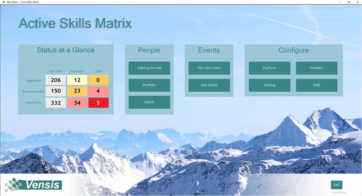 Skills Matrix Database UK